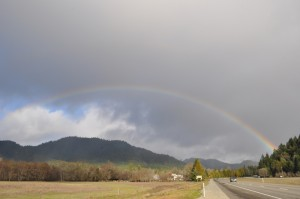 Rainbow Over Road 2