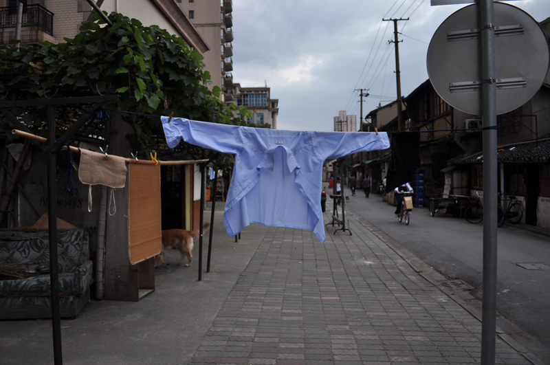 Crucified Shirt, Shanghai, China