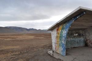 Yarmeg Bus Stop, Ulaanbaatar, Mongolia
